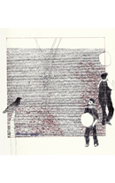 Woman and Child with Bird 9