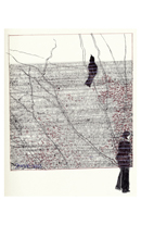 Woman with Bird 8